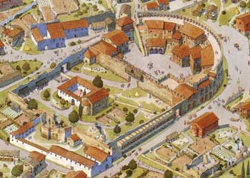 Theater of Balbus in the later Middle Ages