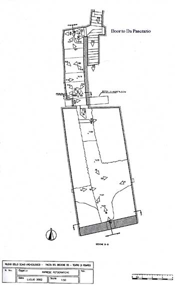 Plan of the 2002 Excavations